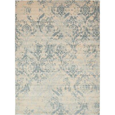 Mellal Blue Area Rug Rug Size: Rectangle 10 x 13