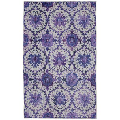 Barkhampstead Purple Area Rug Rug Size: Rectangle 5 x 8