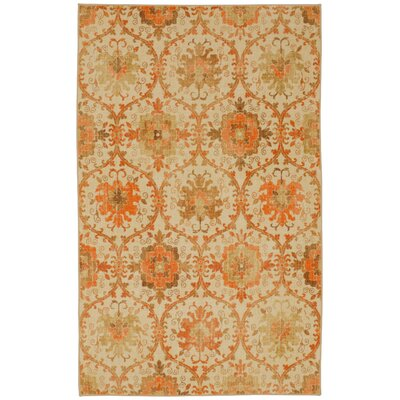 Barkhampstead Rust Area Rug Rug Size: Rectangle 8 x 10