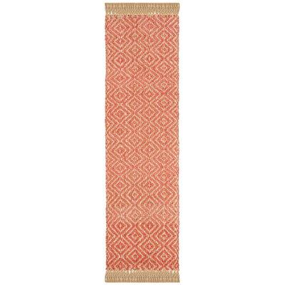 Lana Hand Woven Fuchsia Area Rug Rug Size: Runner 23 x 8