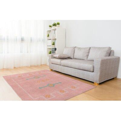 Stellan Blush Area Rug Rug Size: 5 x 7