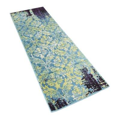 Yareli Blue/Violet Area Rug Rug Size: Runner 3 x 91