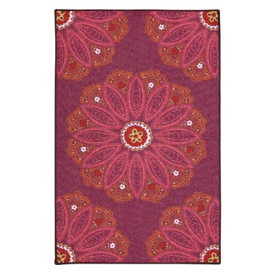 Alpsville Purple Area Rug