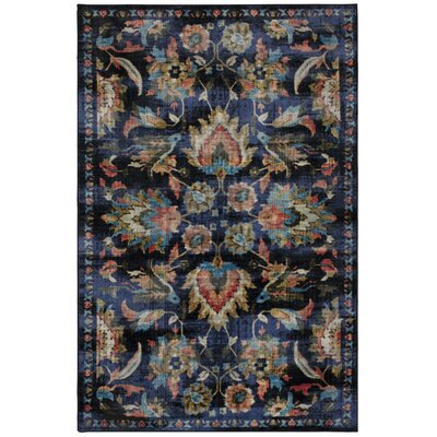 Barkhampstead Blue Area Rug Rug Size: Rectangle 8 x 10