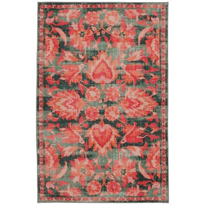Barkhampstead Pink Area Rug Rug Size: Rectangle 5 x 8