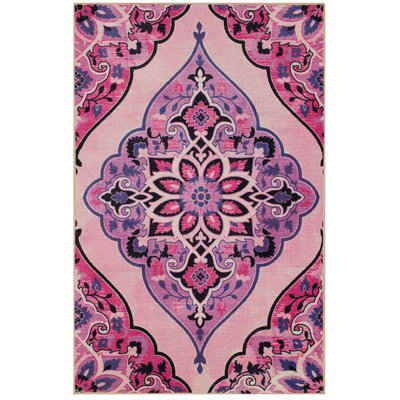 Carrick Blush Area Rug Rug Size: Rectangle 5 x 8