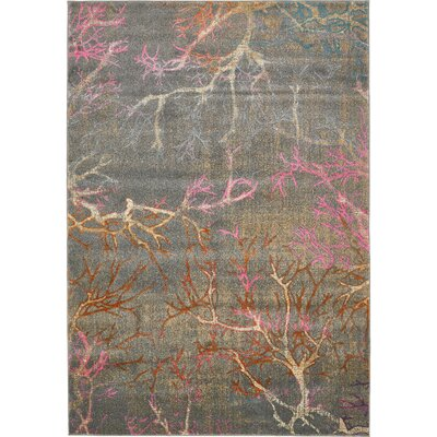 Essex Gray Area Rug Rug Size: Rectangle 7 x 10