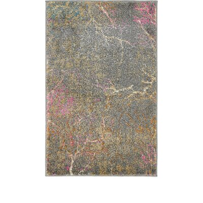Sepe Gray Area Rug Rug Size: Rectangle 2 x 3