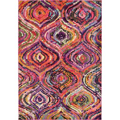 Roshan Multi Area Rug Rug Size: Rectangle 106 x 165