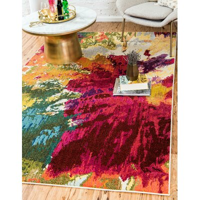 Fujii Area Rug Rug Size: Rectangle 9 x 12