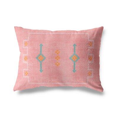 Stellan Rectangular Lumbar Pillow Color: Blush, Size: 12