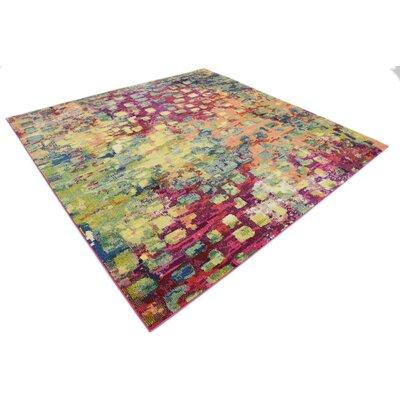 Massaoud Multicolor Area Rug Rug Size: Square 122