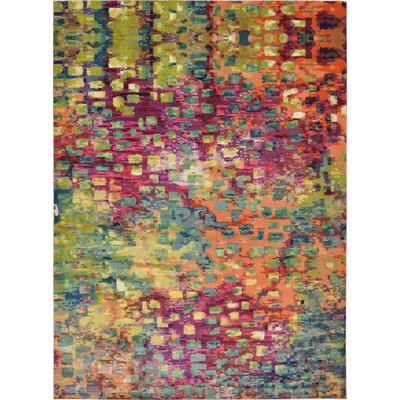 Massaoud Multicolor Area Rug Rug Size: Rectangle 13' x 18'