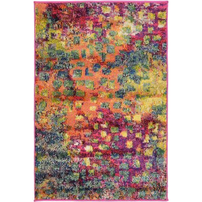 Massaoud Multicolor Area Rug Rug Size: Rectangle 2' x 3'