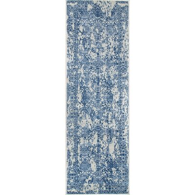 Pittwater Light Blue Area Rug Rug Size: Runner 28 x 8