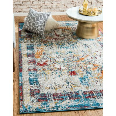 Hartell Multi Area Rug Rug Size: Rectangle 5 x 8