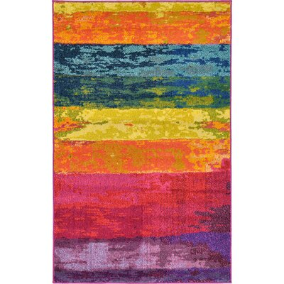 Fujii Area Rug Rug Size: Rectangle 7 x 10