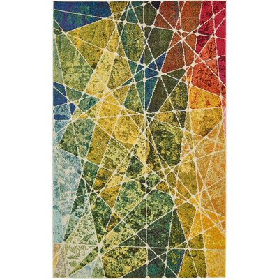 Fujii Area Rug Rug Size: Rectangle 8 x 11