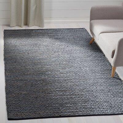 Erik Hand-Woven Light Gray Area Rug Rug Size: Rectangle 5 x 8