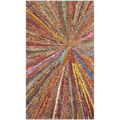 Anaheim Firework Area Rug Rug Size: Rectangle 9 x 12