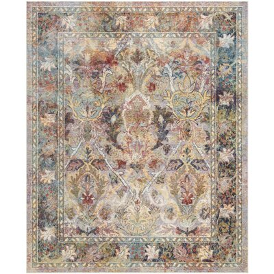Miles Light Purple/Rose Area Rug Rug Size: Rectangle 10 x 14