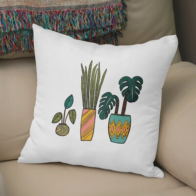 Clay Throw Pillow Size: 18 H x 18 W