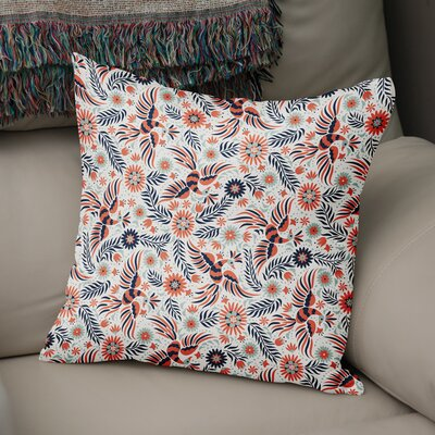 Geraldine Accent Throw Pillow Size: 18 x 18