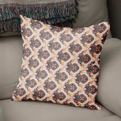 Ginnia Throw Pillow Size: 18 x 18