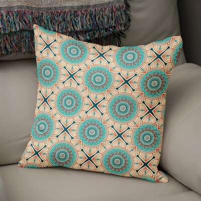 Galleria Bloom Accent Throw Pillow Size: 18 x 18