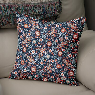Glendora Accent Throw Pillow Size: 18 x 18