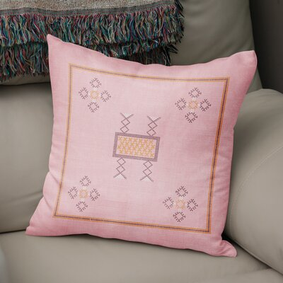 Tulelake Throw Pillow Size: 24 H x 24 W