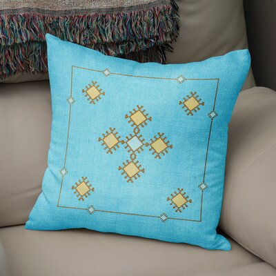 El Cerrito Throw Pillow Size: 18 H x 18 W