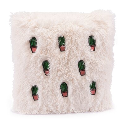 Laguna Beach Cactus Throw Pillow