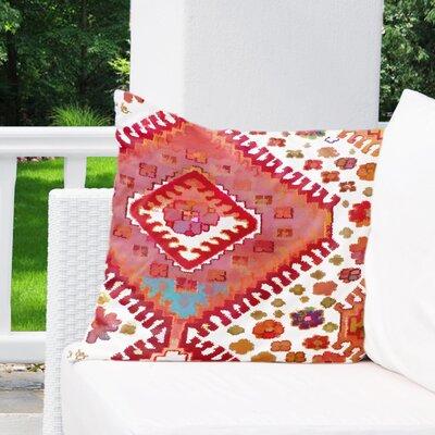 Fitzroy Indoor/Outdoor Throw Pillow Size: 18 x 18