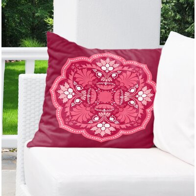 Greenock Outdoor Throw Pillow Size: 18 x 18