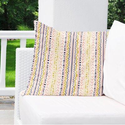 East Milton Outdoor Throw Pillow Size: 18 x 18