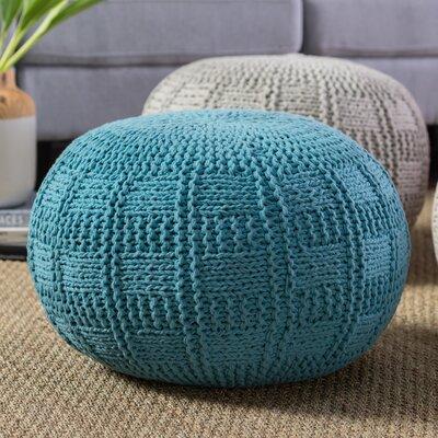 Loma Pouf Upholstery: Blue