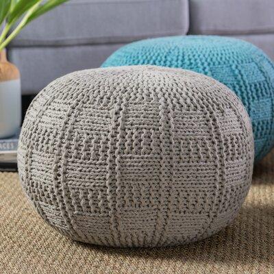 Loma Pouf Upholstery: Gray