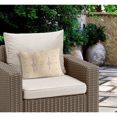 Stellan Outdoor Lumbar Pillow Color: Tan
