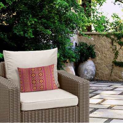 Georgeanna Outdoor Lumbar Pillow