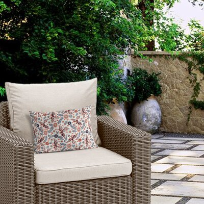 Geraldine Outdoor Lumbar Pillow