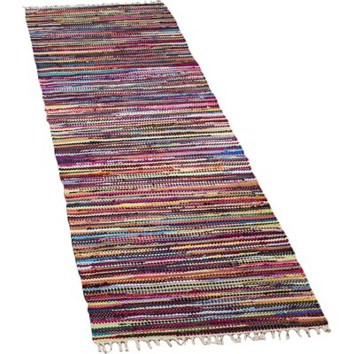 Samaniego Hand-Woven Area Rug Rug Size: Runner 2'3