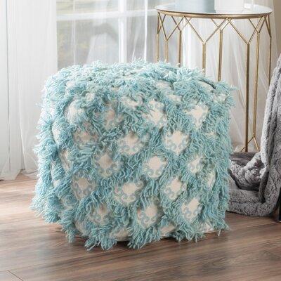Kitty Pouf Upholstery: Aqua