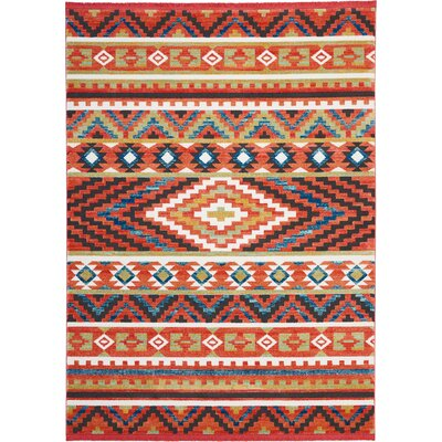 Carice Orange Area Rug Rug Size: Rectangle 710 x 109