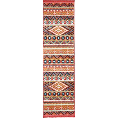 Carice Orange Area Rug Rug Size: Rectangle 22 x 79