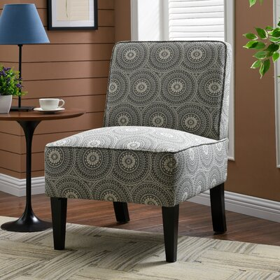 Burling Slipper Chair Upholstery: Medallion Gray