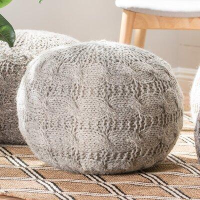 Karter Pouf Upholstery: Gray