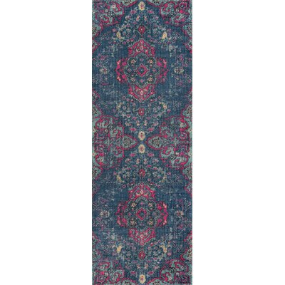 Thadine Denim Area Rug Rug Size: Runner 27 x 76