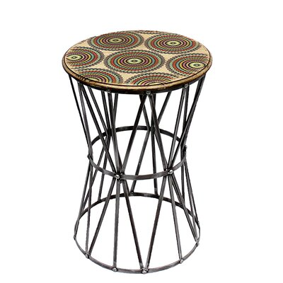 Chamberlan Metal End Table
