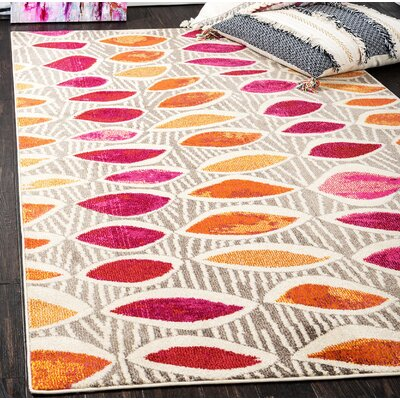 Fujii Light Brown Area Rug Rug Size: Rectangle 5 x 8